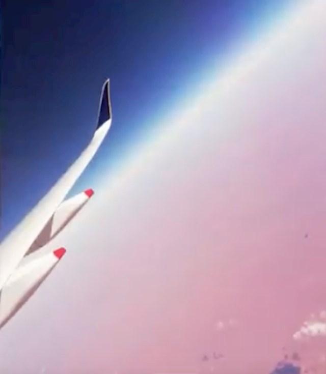 #3 Zanimljiv prizor iz aviona.