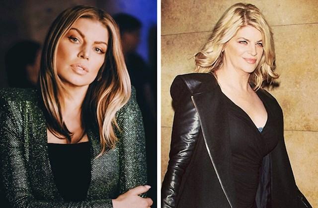 11. Fergie i Kirstie Alley
