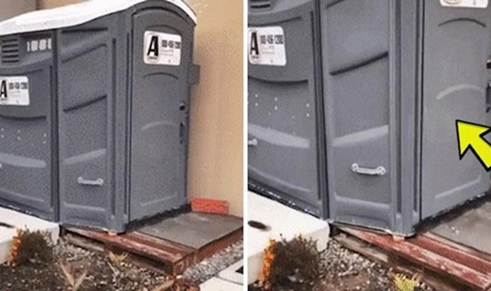 Ovo nikako ne očekujete pri odlasku u ovakve WC kabine