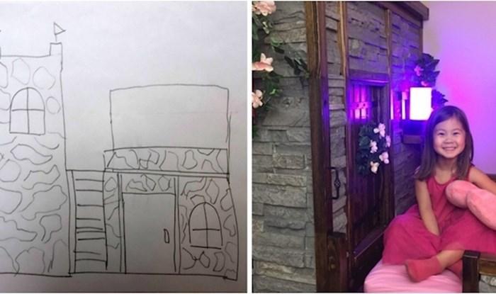 Nadogradio je krevet iz Ikee i napravio pravi mali dvorac za svoju kćer