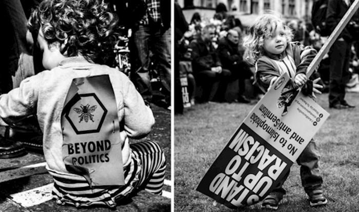 Ovaj fotograf proveo je tri godine fotografirajući prosvjede na ulicama Londona