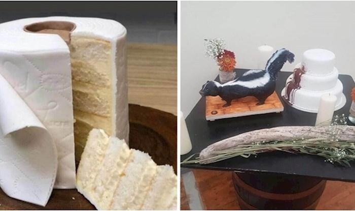 +25 prečudnih i bizarnih torti koje su ljudi fotkali na vjenčanjima