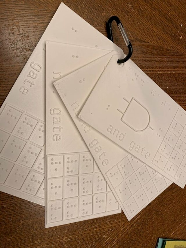 """""""Napravio sam taktilne dijagrame za slijepog studenta na mom fakultetu."""""""