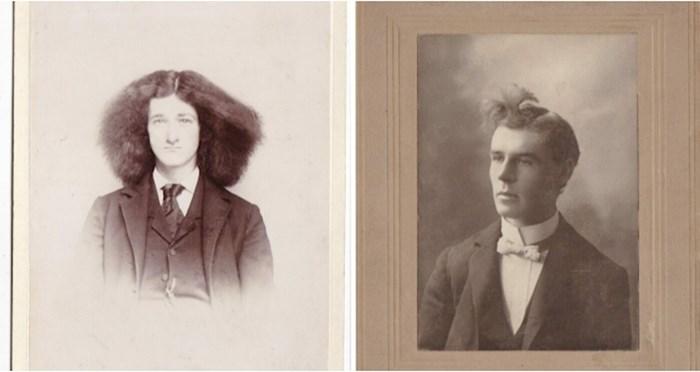 Pogledajte vintage kolekciju fotki čudnih muških frizura kroz stoljeća