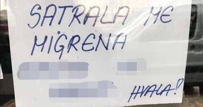 Ovaj radnik ostavio je poruku koja je nasmijala sve mušterije