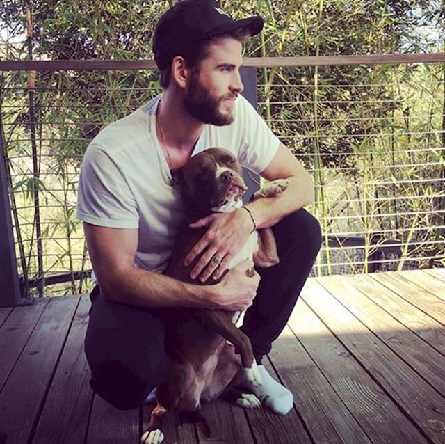 9. Možete osjetiti ljubav između Tanija i Liama Hemsworth-a.