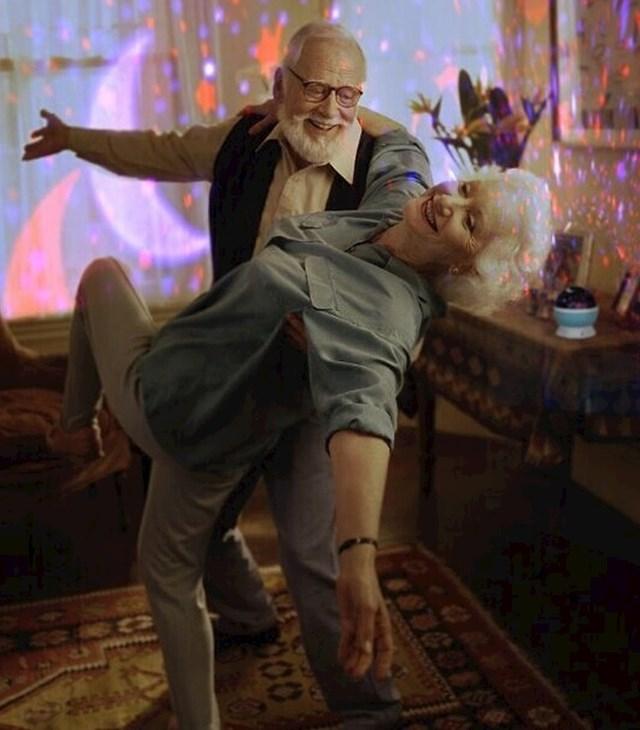 Ovako su moji baka i djed proslavili 60. godišnjicu braka.
