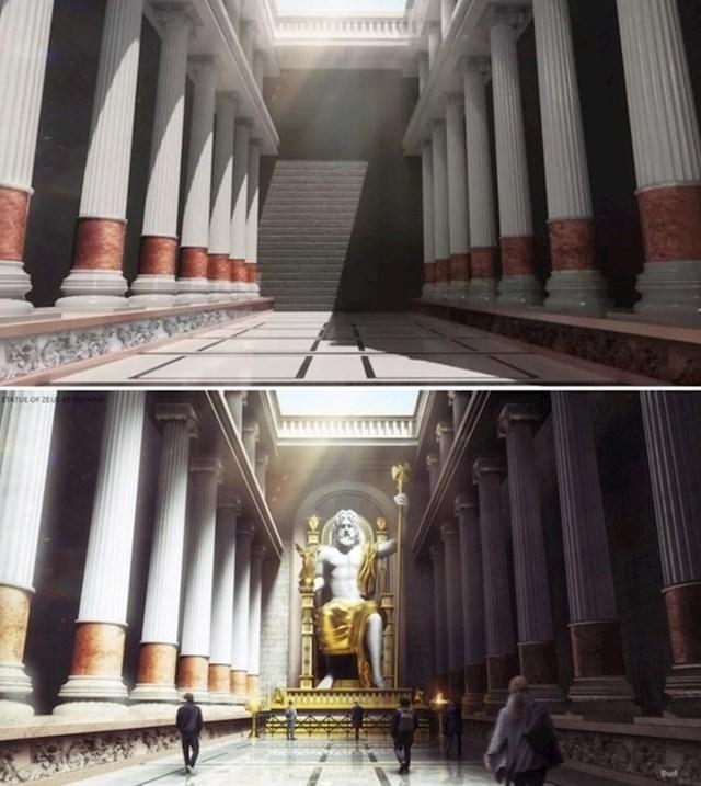 Zeusov kip u Olimpiji