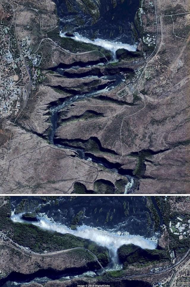 """""""Rijeka Zambezi ima vrlo neobičan put , posebniji od bilo koje druge rijeke. """""""