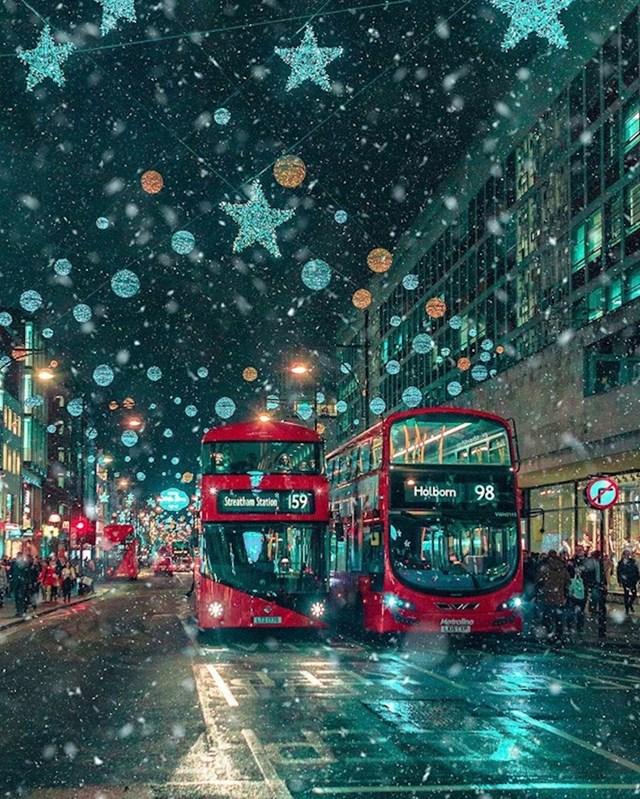 4. Čarobne zimske noći u Londonu