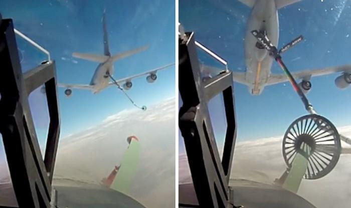 VIDEO Nadopuna goriva tijekom leta postupak je koji ostavlja bez daha