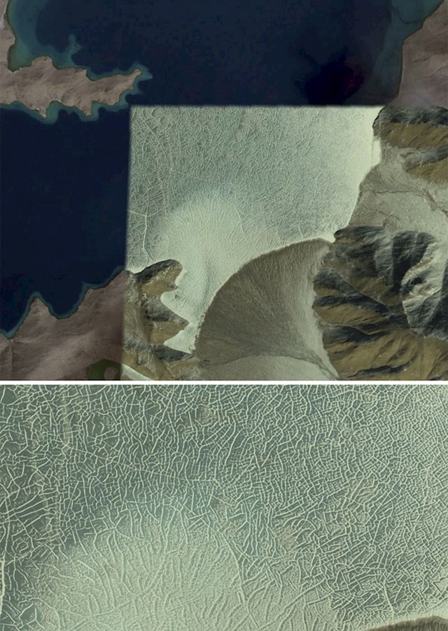 """""""Jezero negdje na tibetanskoj visoravni ljeti i zimi."""""""