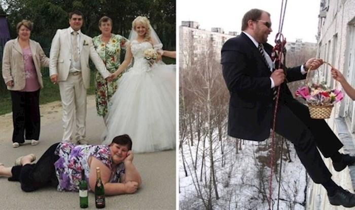 15 neugodnih fotografija s ruskih vjenčanja koje su toliko loše da su dobre