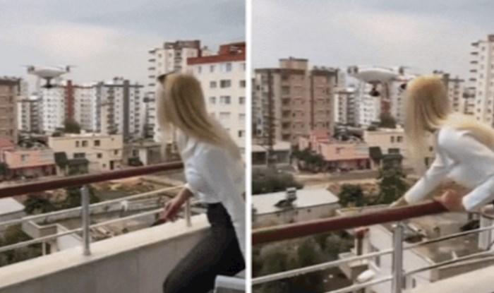 Trebao je to biti zabavan video poklona kojeg donosi dron, a pretvorio se u katastrofu
