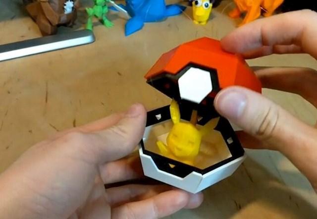 """""""Napravio sam sklopivi božićni ukras u obliku pokemon lopte. Zaista sam zadovoljan rezultatom!"""""""