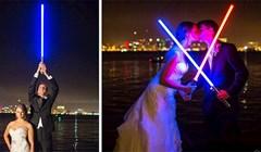 Na ovo vjenčanje iz Ratova zvijezda, tamna strana nije bila pozvana