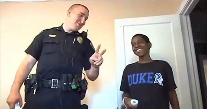 Odlučio je pobjeći od kuće, policajac je ostao u šoku kad je vidio njegovu sobu