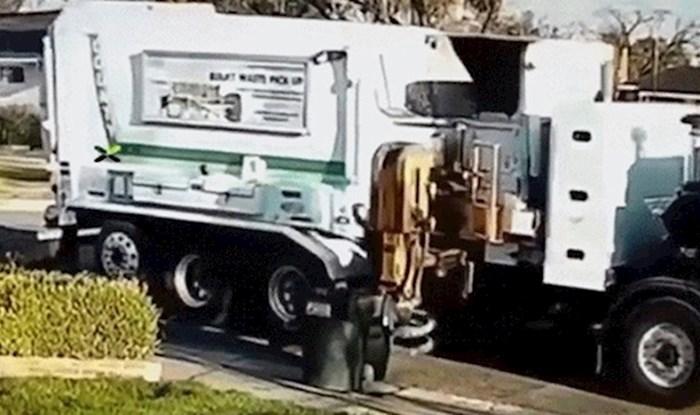 Nije im bilo jasno što se dogodilo s njihovom kantom za smeće dok nisu vidjeli ovu snimku