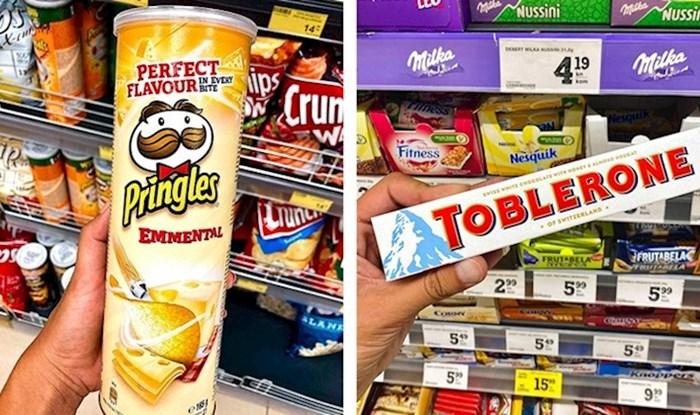 Jeste li ikad probali ovakav Toblerone? Pogledajte što smo pronašli u dućanima