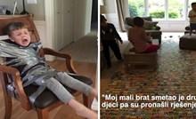 13 fotki koje su dokaz da je imati sestru ili brata igra bez pravila