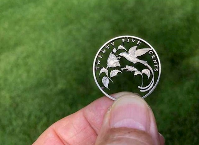 Pogledajte što je netko napravio od najobičnije kovanice.