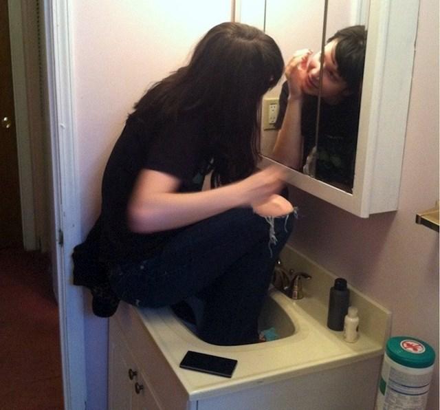 #14  Kad želite biti što bliže ogledalu: