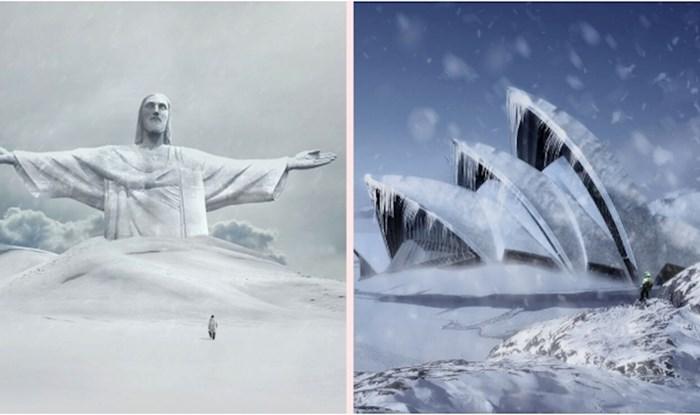 Dizajneri su koristeći Photoshop povijesnim spomenicima širom svijeta unijeli novi život