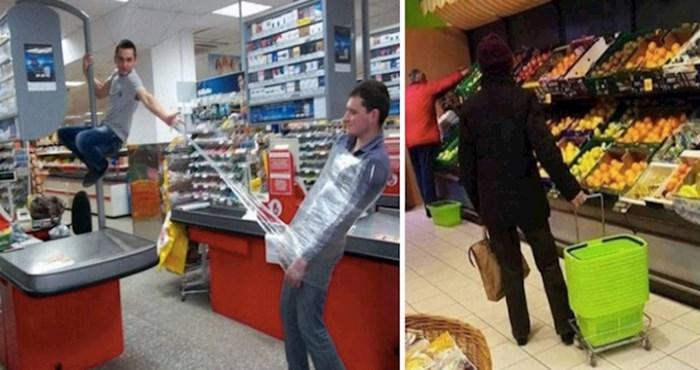 Ovi ljudi su tijekom kupovine u supermarketu fotkali najčudnije prizore