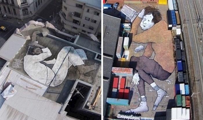 22 nevjerojatne fotografije divovskih murala uspavanih ljudi