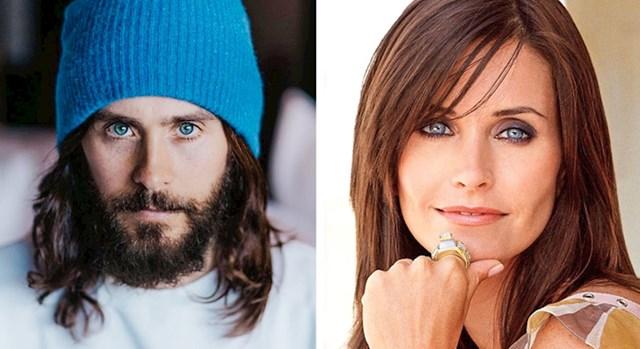 12. Jared Leto i Courtney Cox