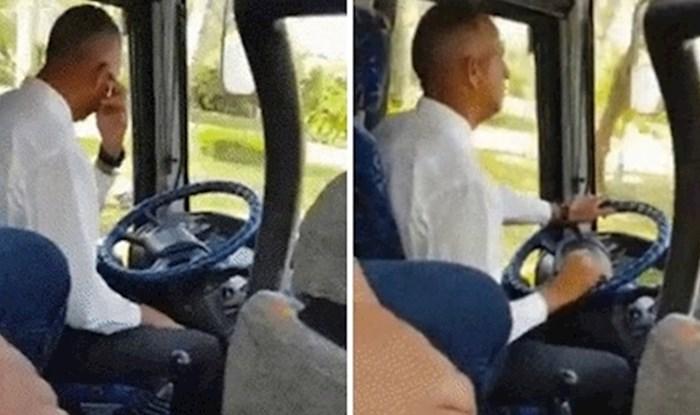 Putnik je snimio najnježnijeg vozača autobusa na svijetu, pogledajte kako je mijenjao brzine