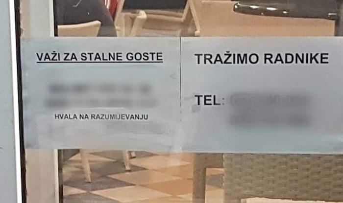 Oglas na ovom kafiću zbog manjka radnika ima važnu obavijest za sve stalne goste