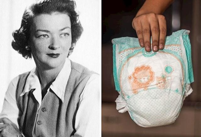 9. Marion Donovan izumila je vodootpornu navlaku za pelene.