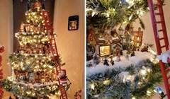 VIDEO Pogledjte prekrasno božićno drvce s malenim selom u unutrašnjosti
