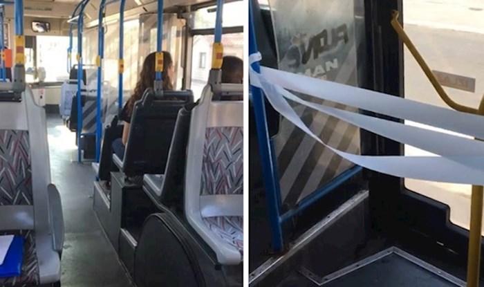 Pogledajte kako je ovaj vozač autobusa riješio problem pokvarenih vrata