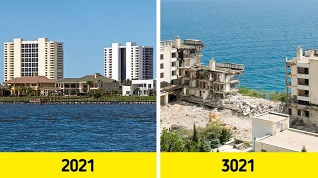 2. Brojne zgrade bi se urušile.