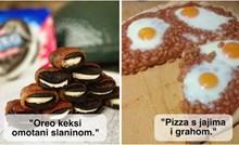 +25 čudnih kombinacija hrane za koje su neki ljudi dali tople preporuke