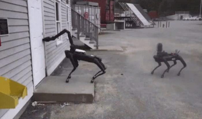 Spot je robot koji izgleda kao pas, a od nedavno ih koristi i policija