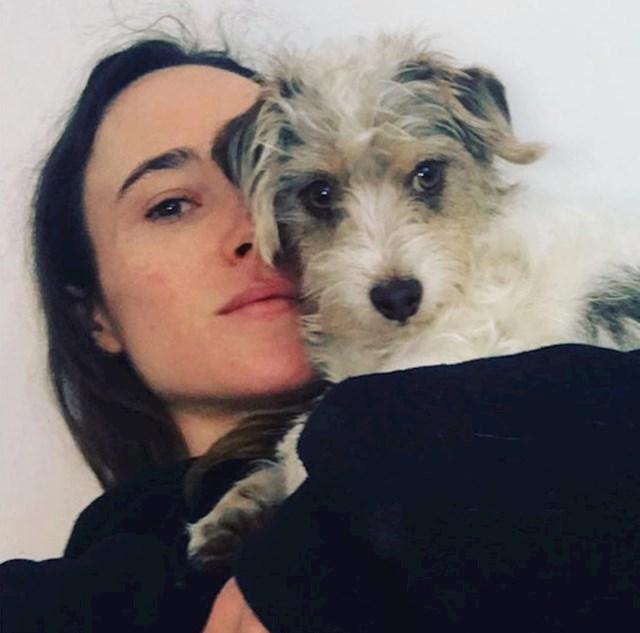 6. Ellen Page i njezin ljubimac Patters.