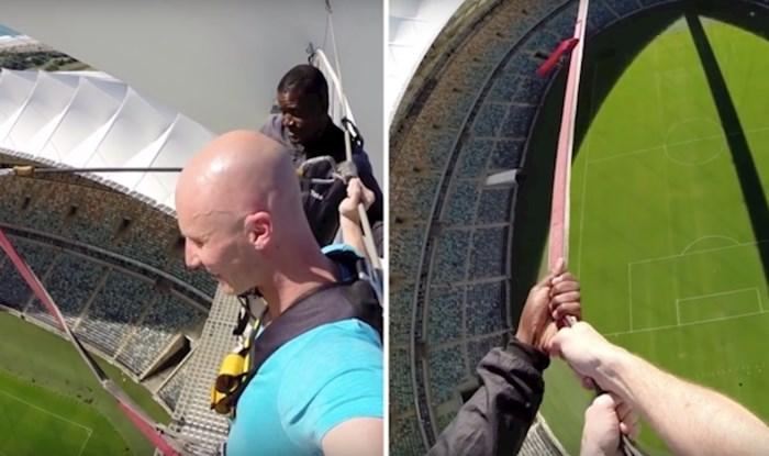 VIDEO Najveća ljuljačka na svijetu nalazi se na stadionu i prava je adrenalinska poslastica