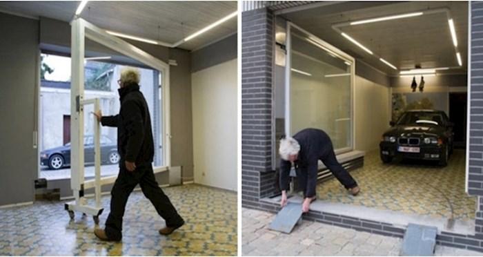Ovom čovjeku gradske vlasti su zabranile da napravi garažu pa se snašao na genijalan način