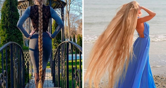 Ona je stvarna Matovilka ima kosu dugu gotovo dva metra koju nije šišala već 30 godina