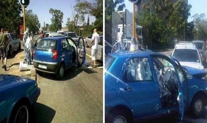 Prometna nesreća ovog čovjeka naučila je lekciju da neke stvari uvijek treba spremati u prtljažnik