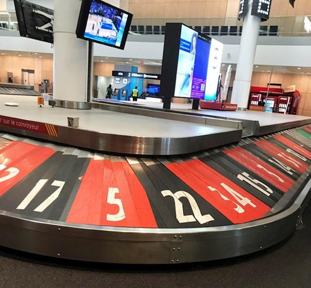 Ovaj oglas za kasino u zračnoj luci.