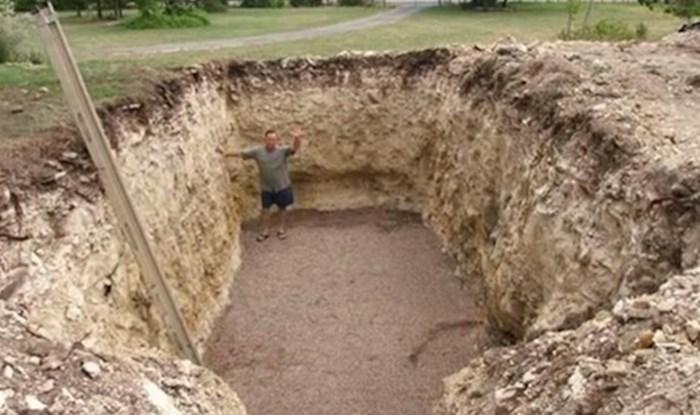 Susjedi su mislili da je poludio kad je rekao što namjerava napraviti u dvorištu