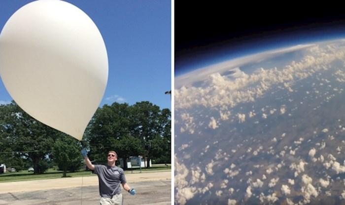 VIDEO Pogled snimljen GoPro kamerom gotovo iz svemira, pogledajte prekrasne prizore