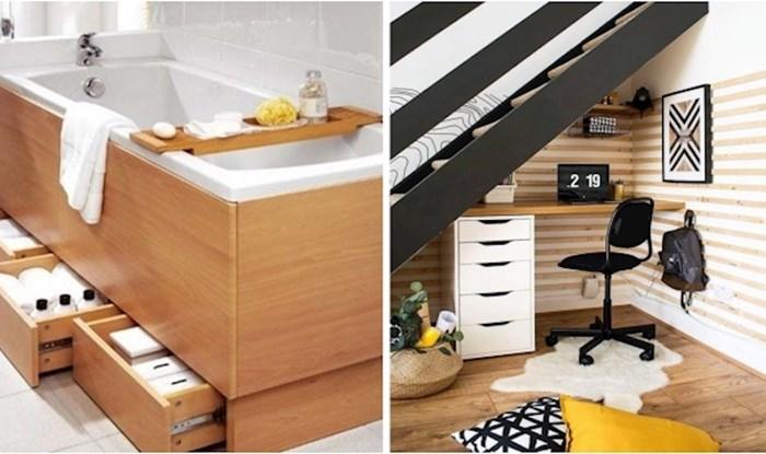 Ideje koje su savršen način uštede prostora u malim domovima