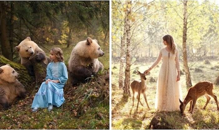 Ova fotografkinja stvara portrete sa životinjama koji izgledaju kao da su iz bajke