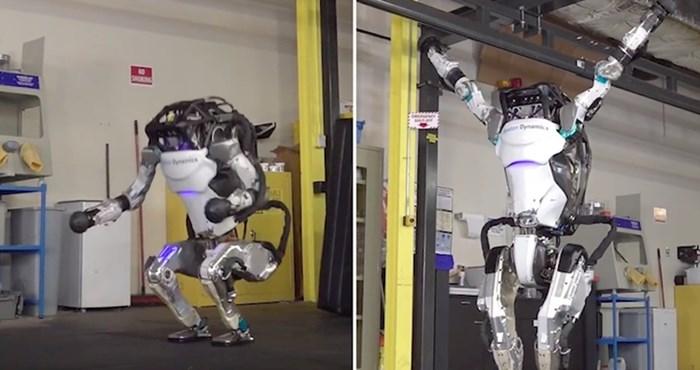 VIDEO Ovaj robot gimnastičar uskoro bi mogao i na Olimpijske igre