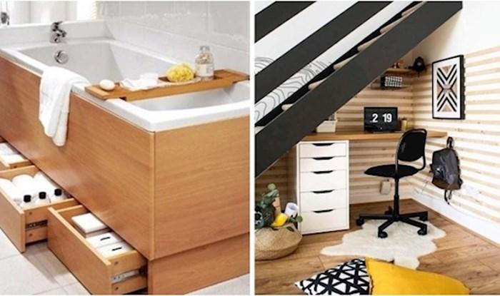 Ako tražite način da uštedite prostor u malom stanu; evo nekoliko dobrih ideja